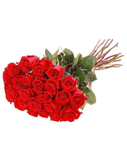 25 голландских роз. Доставка по Киеву и Украине