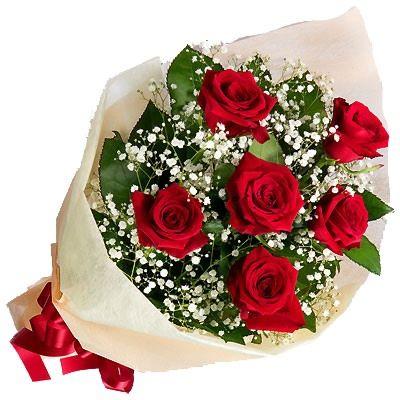 Букет красных роз Крепс. Доставка по Киеву и Украине