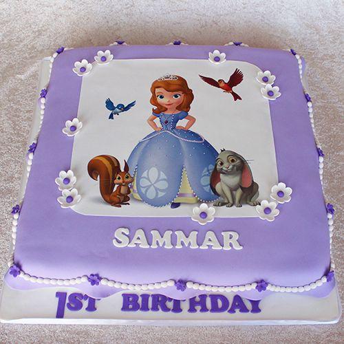 Детский торт София прекрасная. Доставка по Киеву и Украине